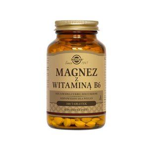 SOLGAR Magnez z witaminą B6